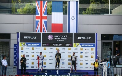 July 23. 2015. Good summer break for Roy with Podium