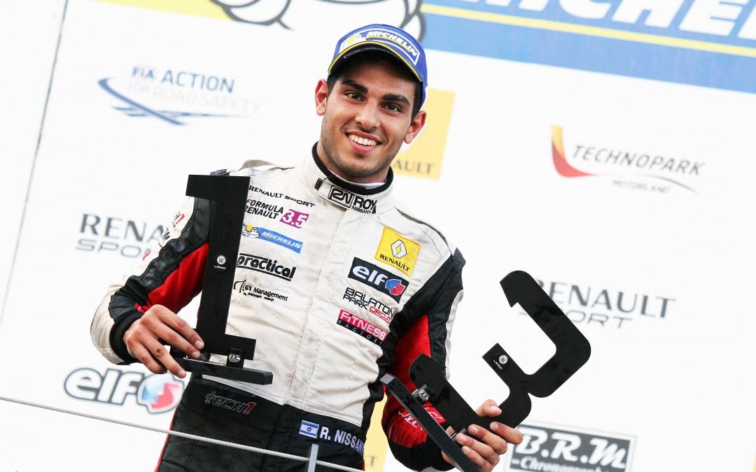 Roy Nissany Race Driver - Race