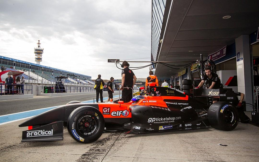October 26. 2015. Roy Nissany Motorland Aragón Test