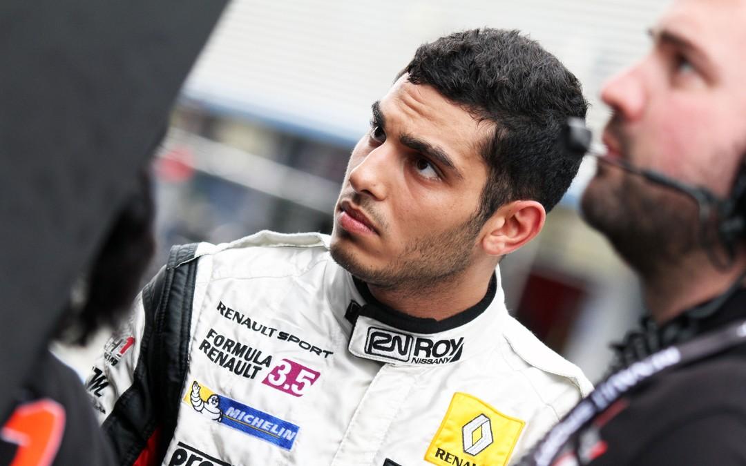 Roy Nissany Race Driver - test in Jerez