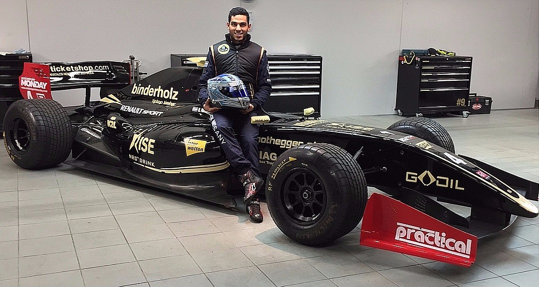 Roy Nissany Race Driver - Lotus announcement