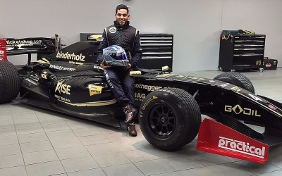 March 21. 2016. Roy Nissany: Happy to join Lotus