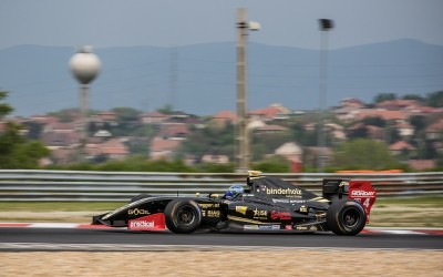 Lotus with Roy Nissany scores valuable points in Budapest