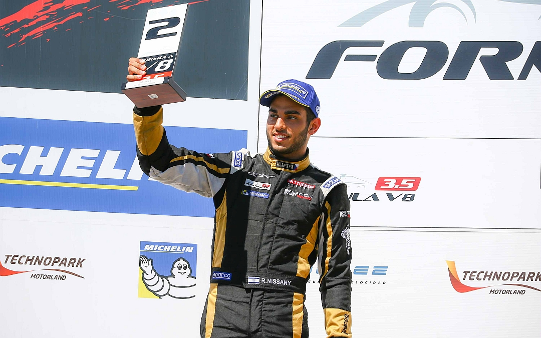 June 26. 2016. Pole and P2 for Roy Nissany at Paul Ricard