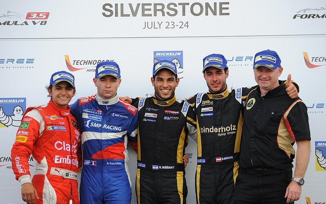 Roy Nissany Race Driver - win