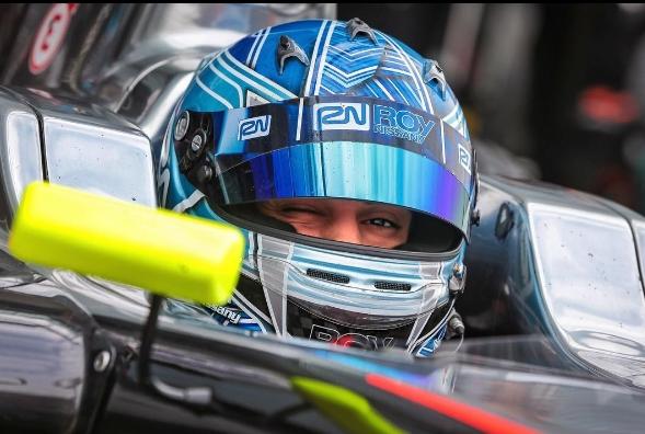 Roy Nissany Race Driver - Mexico City