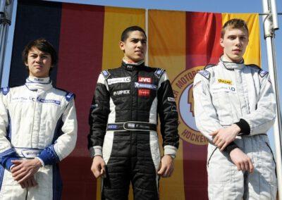 Roy Nissany Formula BMW - Podium