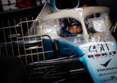 Roy Nissany Race Driver (ISR) Williams Racing FW42 Test Driver.