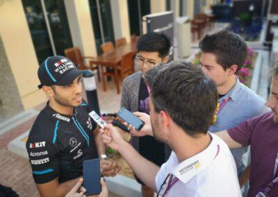 Roy Nissany Race Driver Williams Rokit Press