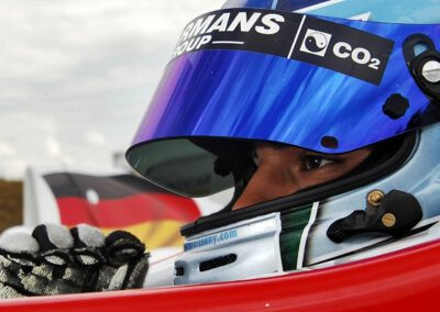 Roy Nissany - Before race
