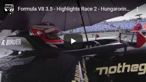 Roy Nissany Race Driver Hungaroring Video