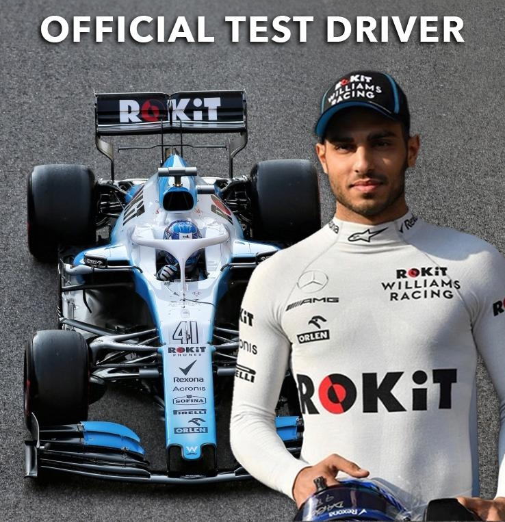 Roy Nissany Rokit official test driver